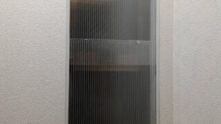 トイレ・中空ポリカで二重窓
